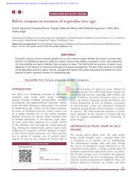 Radiation Doses In Pregnant Women Request Pdf
