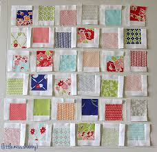 280 best MODA FABRICS & QUILTS images on Pinterest | Building ... & Double it for quilt 2 mini charm Scattered Squares Pillow Â« Moda Bake Shop Adamdwight.com