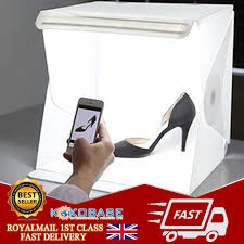 Photo Studio Box Light Cube Tent Details About Professional Small 40cm Photo Studio Kit Portable Mini Light Box Cube Tent Uk