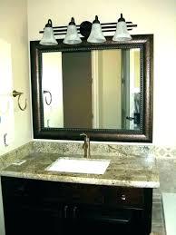 bathroom vanity mirror lights. Led Light Vanity Mirror Over Bathroom With Lights  .