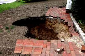 above ground septic tank. Collapsed Cesspool Above Ground Septic Tank
