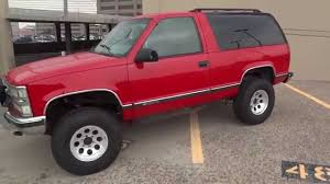 Tahoe chevy 2 door tahoe : RARE 1997 Chevy 2 Door Tahoe 4x4 Lifted Truck For Sale - YouTube