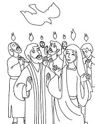 Small Picture Everyone is Praise Pentecost Day Coloring Page Color Luna