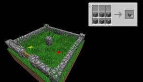 minecraft fence recipe. Azminecraft.info HLIC How To Make Gate In Minecraft A Fence Recipe
