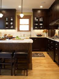 Dark Cabinets Light Countertop Houzz. Contemporary Kitchen ...