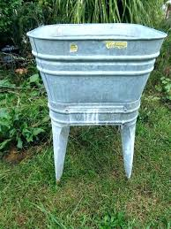 wash tubs for old galvanized