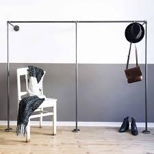 Garderobe Industrial Design Aus Stahlrohr In Wunschgröße Online Kaufen