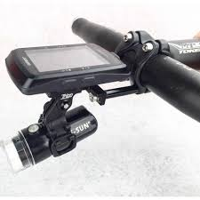 Wahoo Light Mount Trigo Bike Stem Front Computer Mount Head Light Holder For Garmin Neostrack Cateye Bryton Gopro Wahoo Camera Headlight Holder