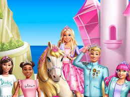 barbie the princess cartoon