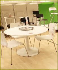 ikea round white kitchen table