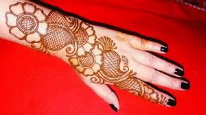 Super Simple Henna Designs Very Easy Mehndi Design For Hand Simple Mehndi Henna