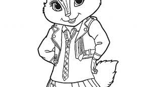 Small Picture Alvin And The Chipmunks Coloring Pages Print Coloring Pages For