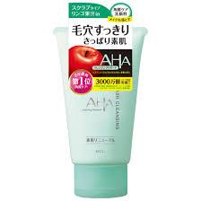 <b>AHA Пенка</b>-<b>скраб для лица</b> очищающая с фруктовыми кислотами ...