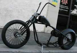 rolling chassis n231 new school bobber with 23 front and hoop