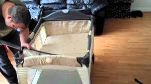graco bedroom bassinet portable crib. assembling the graco travel cot and bassinet \u0026 changing table - youtube bedroom portable crib o