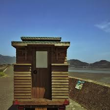 Small Picture Man in Japan Builds Micro DIY Tiny House on Wheels