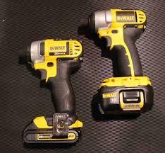 dewalt impact driver vs drill. dewalt 20v max and 18v impact drivers dewalt driver vs drill