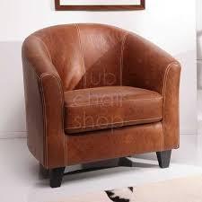 faux leather chairs under 150 tub chairs trafalgar tub chair in antique tan faux