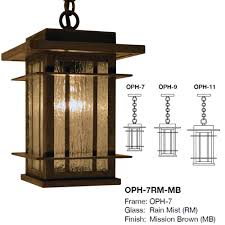 arroyo craftsman oph oak park craftsman exterior pendant lighting fixture loading zoom