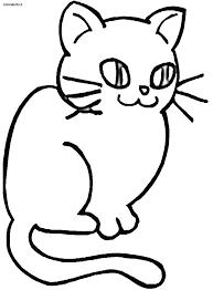 Disegni Gatti 4 Disegni Per Bambini Da Stampare E Colorare By Con