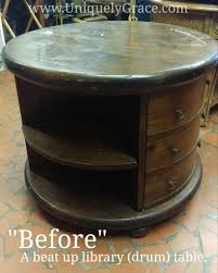 Bear Coffee Table Library Table Furniture Flip Drab To Fab Uniquely Grace Designs