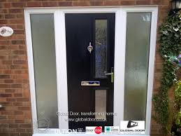 front doors with glass side panels household composite and global door 1