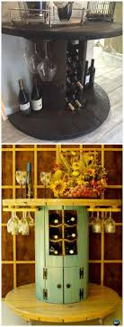 DIY Recycled Wood Cable Spool Furniture Ideas & Projects