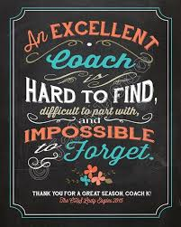 Great Coach Quotes Beauteous Thank You Coach Quotes And Sayings Awesome Coaches T Exploredhaka