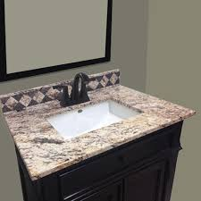 imperial impressions 31 w x 22 d golden beaches cultured marble vanity top with