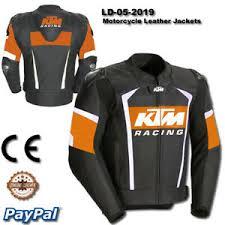 Ktm Jacket Size Chart Details About Men Ktm Motorcycle Leather Racing Jacket Ld 05 2019 Us 38 48