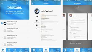 Resume App Free Simple Resume Maker App Free Template Resume App Free Best Resume Templates