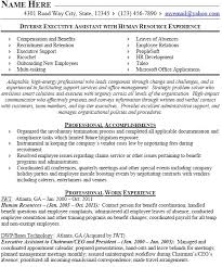 Hr Manager Job Resume Sample Resume Resume Objective Examples Hr