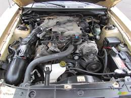2000 Ford Mustang V6 Coupe 3.8 Liter OHV 12-Valve V6 Engine Photo ...