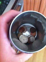 simply put all your change that is in your car in this and place it in the cup holder in your car my sister had 1 3 of the idea she said it