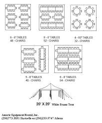 Wedding Diagram 20 X 20 Frame Tent Rectangle Seating Diagram Google Search Floor