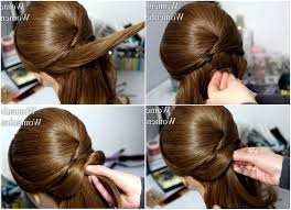 Photo Hair Style Step By Step Images Video Hair Tutorial Jaw