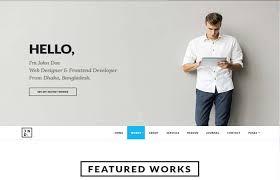 Professional Resume Portfolio Cssreel Css Website Awards