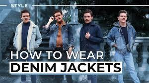 How To <b>Style</b> A <b>Denim Jacket</b>   <b>Men's Style</b> - YouTube