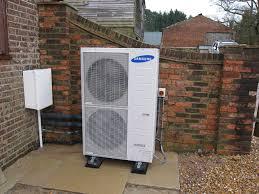 Heatpump Installation Case Study Air Source Heat Pump Installation In Sussex