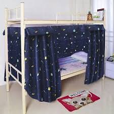 New Cabin Bunk Bed Tent Curtain Cloth Dormitory Mid Sleeper Canopy ...