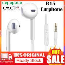 OPPO Tai Nghe Nhét Tai Chính Hãng 100% Jack 3.5mm Có Micro Và Nút Điều  Chỉnh Âm Lượng - Tai nghe Bluetooth chụp tai Over-ear
