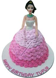 The Lovely Barbie Cake 3 Pound Ghar Baithe Bazar