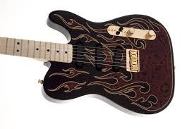 james burton telecaster® fender electric guitars james burton telecaster® red paisley flames