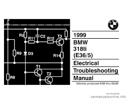 bmw 318ti 1999 e36 electrical troubleshooting manual 318ti fuse box diagram 318ti Fuse Box #23