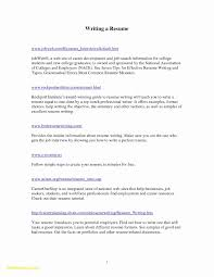 Guide To Writing A Resume Valid Resume Format To Download New 28