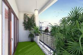 balcony garden. Fecund Oasis Balcony Garden