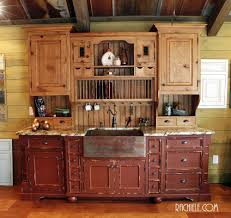 copper farm sink in a farmhouse kitchen