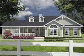 Small Picture Great cozy cottage with wrap around porch House plan 26206