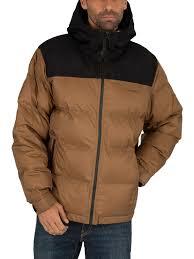 Carhartt Wip Larsen Jacket Hamilton Brown Black