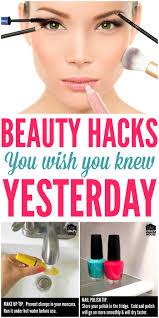 simple beauty hacks to make life easier